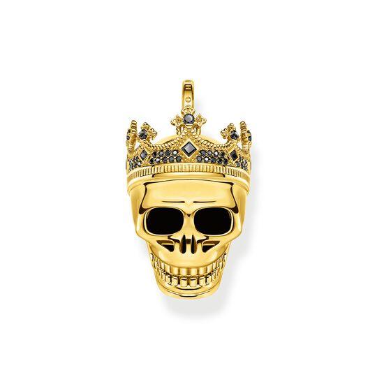Armband Totenkopf König gold aus der  Kollektion im Online Shop von THOMAS SABO