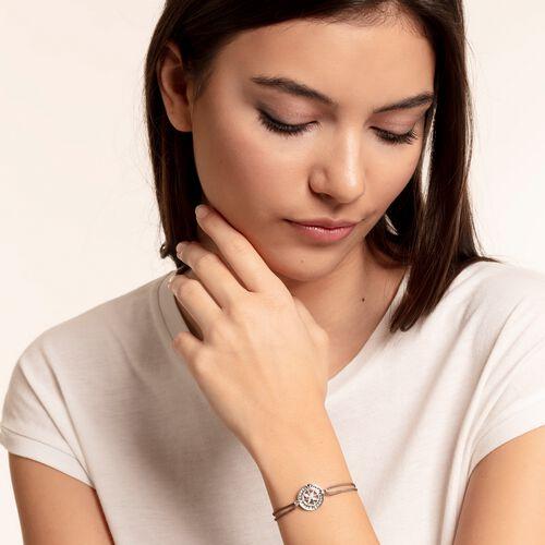 """Armband """"Little Secret Kompass Glaube, Liebe, Hoffnung"""" aus der Glam & Soul Kollektion im Online Shop von THOMAS SABO"""