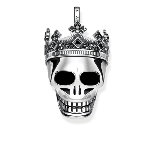 pendant skull crown from the Rebel at heart collection in the THOMAS SABO online store