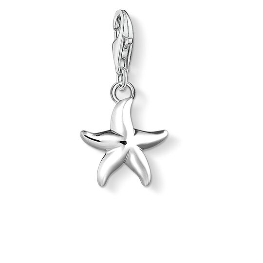 Charm pendant starfish from the Charm Club collection in the THOMAS SABO online store