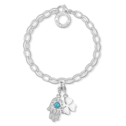 "Charm bracelet ""Hand of Fatima"" from the  collection in the THOMAS SABO online store"