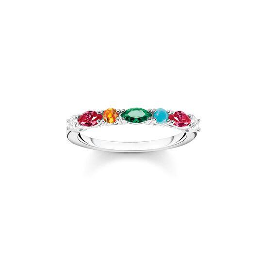 Bague pierres colorées argent de la collection  dans la boutique en ligne de THOMAS SABO
