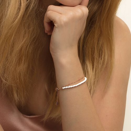 "bracelet ""white"" from the Glam & Soul collection in the THOMAS SABO online store"