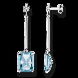 Ohrringe Blauer Stein mit Stern aus der Glam & Soul Kollektion im Online Shop von THOMAS SABO