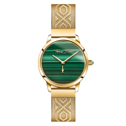 women's watch Garden Spirit malachite gold from the Glam & Soul collection in the THOMAS SABO online store