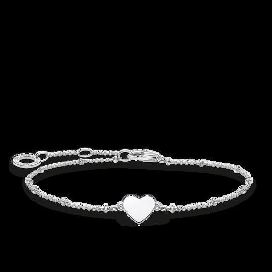 Armband Herz mit Kugeln silber aus der Charming Collection Kollektion im Online Shop von THOMAS SABO