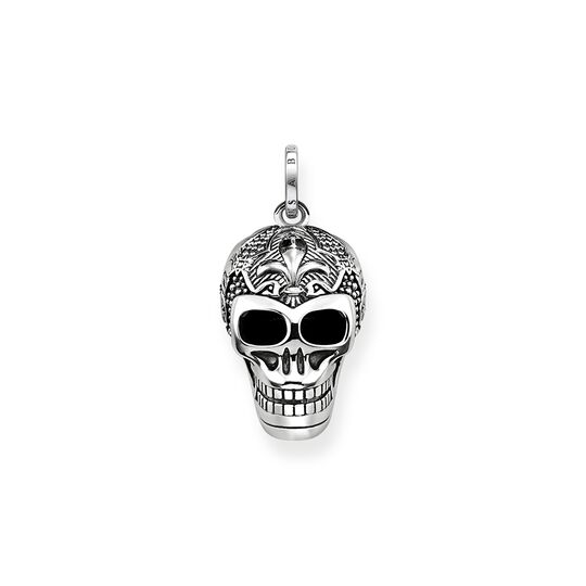 pendant lily skull from the  collection in the THOMAS SABO online store
