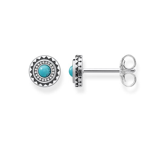 """ear studs """"ethno turquoise"""" from the Glam & Soul collection in the THOMAS SABO online store"""