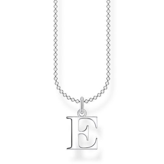 Kette Buchstabe E aus der Charming Collection Kollektion im Online Shop von THOMAS SABO