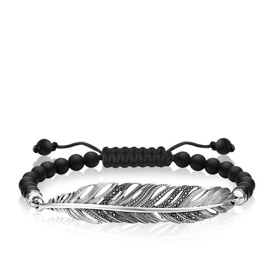 bracelet plume de la collection Love Bridge dans la boutique en ligne de THOMAS SABO