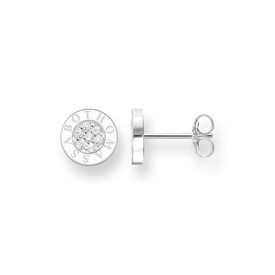 ear studs Classic Pavé white from the Glam & Soul collection in the THOMAS SABO online store