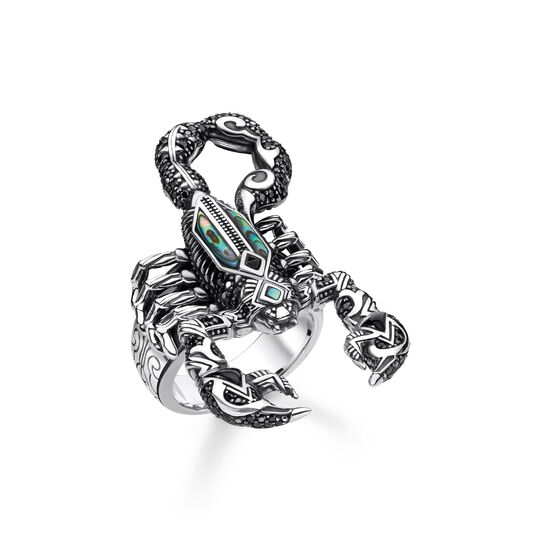 ring scorpion from the  collection in the THOMAS SABO online store