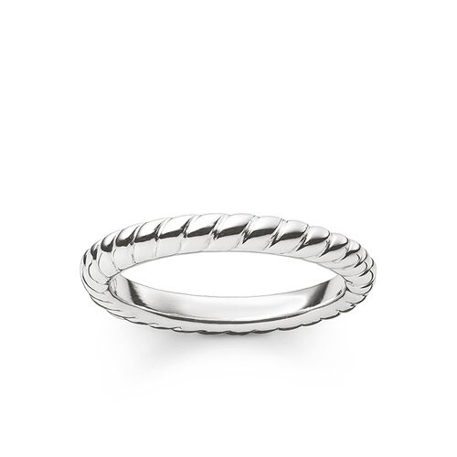 """ring """"cord look"""" from the Glam & Soul collection in the THOMAS SABO online store"""