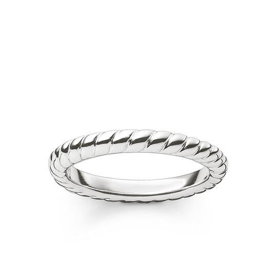 """Ring """"Kordeloptik"""" aus der Glam & Soul Kollektion im Online Shop von THOMAS SABO"""