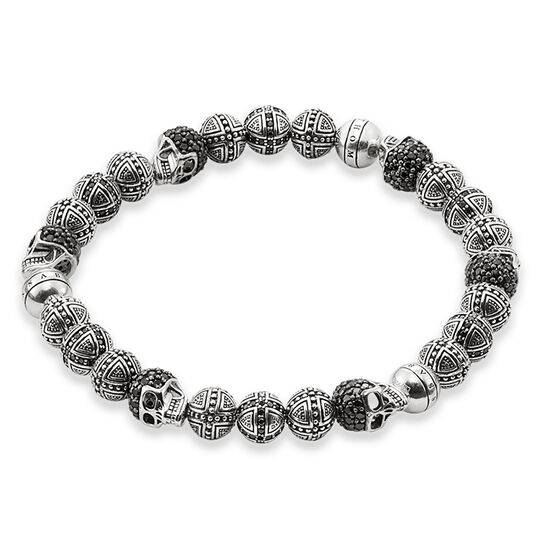 """bracelet """"cross and skull"""" from the Rebel at heart collection in the THOMAS SABO online store"""
