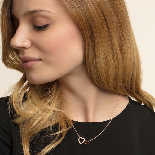 """necklace """"TOGETHER Heart Medium"""" from the Glam & Soul collection in the THOMAS SABO online store"""