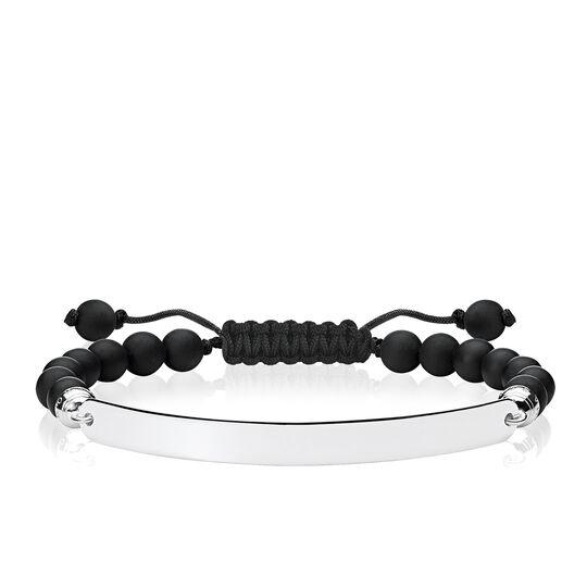 """Armband """"Schwarz"""" aus der Love Bridge Kollektion im Online Shop von THOMAS SABO"""