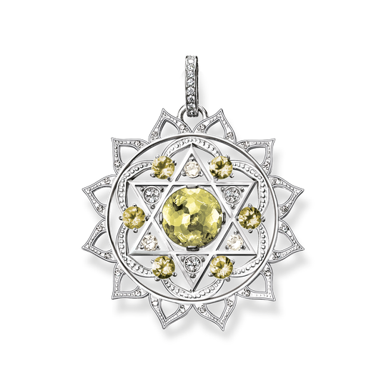 pendant heart chakra from the Chakras collection in the THOMAS SABO online store
