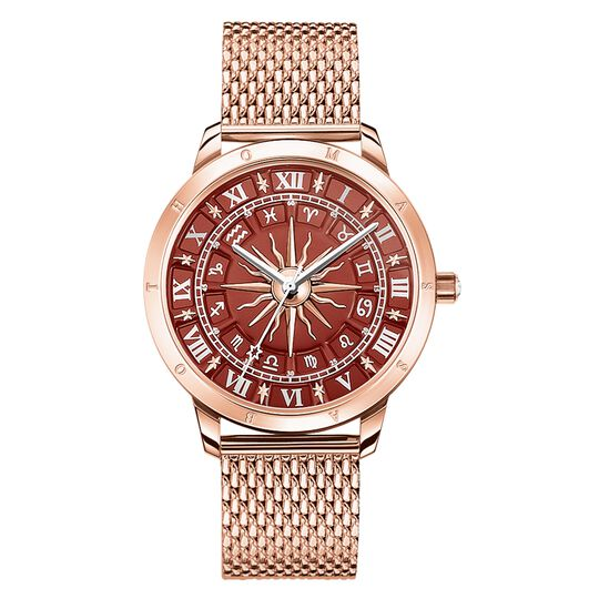 women's watch Glam Spirit astro watch, red from the  collection in the THOMAS SABO online store