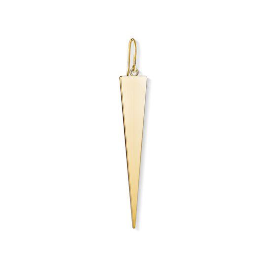 earring golden triangle from the Charm Club collection in the THOMAS SABO online store