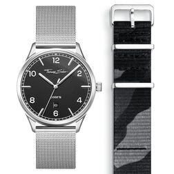 SET CODE TS Reloj negro & correa camuflaje de la colección  en la tienda online de THOMAS SABO