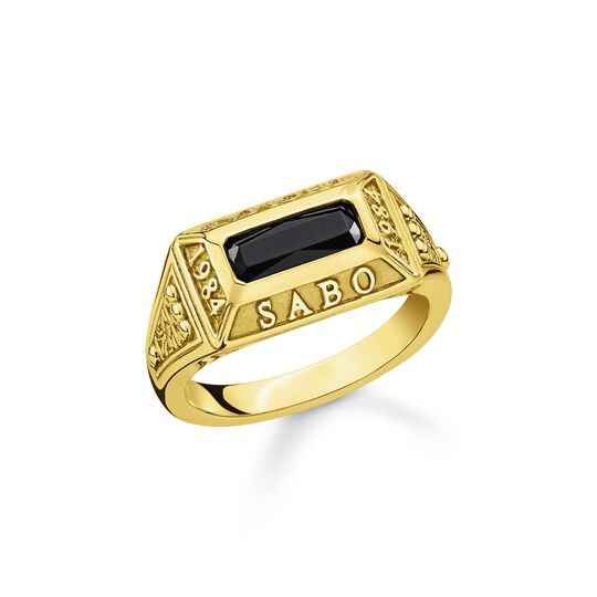Ring college ring gold from the  collection in the THOMAS SABO online store
