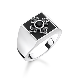 "bague ""croix Royalty"" de la collection Rebel at heart dans la boutique en ligne de THOMAS SABO"