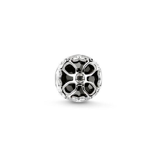 Bead flor de loto negro de la colección Karma Beads en la tienda online de THOMAS SABO