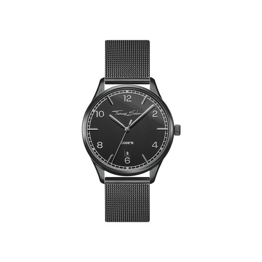 women's watch Code TS small black from the  collection in the THOMAS SABO online store