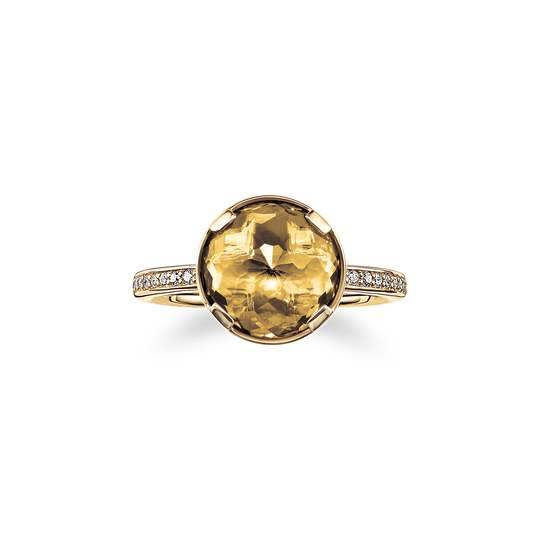 solitair ring solar plexus chakra from the Chakras collection in the THOMAS SABO online store