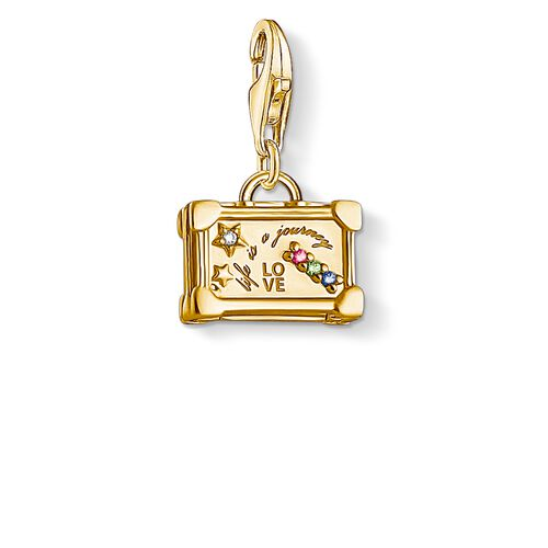 """Charm pendant """"Vintage Suitcase"""" from the  collection in the THOMAS SABO online store"""