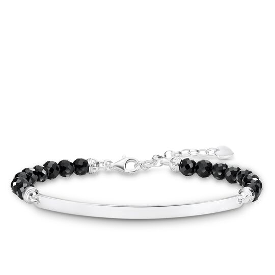bracelet noir de la collection Love Bridge dans la boutique en ligne de THOMAS SABO