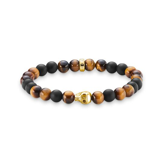 bracelet brown skull from the  collection in the THOMAS SABO online store