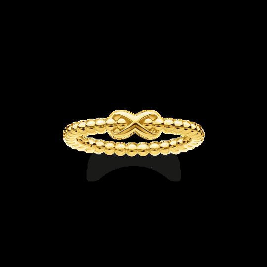Ring Kugeln mit Infinity gold aus der Charming Collection Kollektion im Online Shop von THOMAS SABO