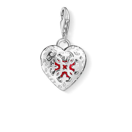 Charm pendant heart medallion 1313 thomas sabo great britain charm pendant quotheart medallionquot from the collection in the thomas sabo aloadofball Choice Image