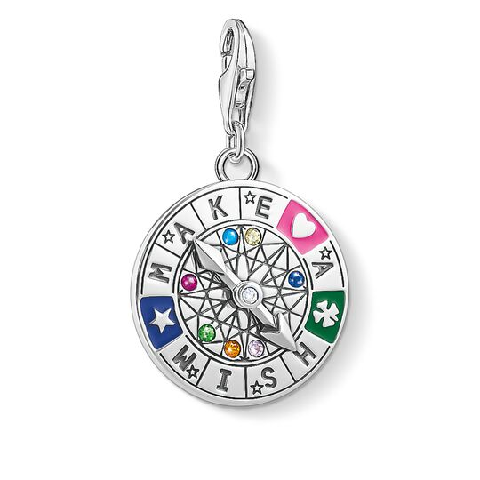 Charm pendant Wheel of Fortune - Make a Wish from the Glam & Soul collection in the THOMAS SABO online store