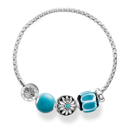 "bracelet ""turquoise"" from the Glam & Soul collection in the THOMAS SABO online store"