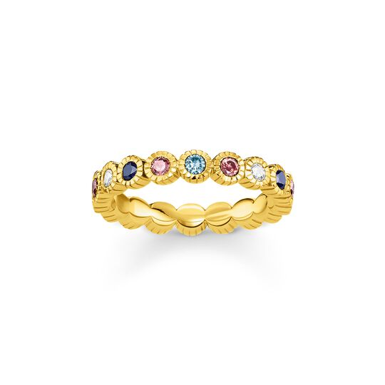 Ring royalty gold from the  collection in the THOMAS SABO online store