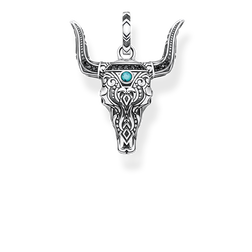 "pendant ""bull's head"" from the Rebel at heart collection in the THOMAS SABO online store"