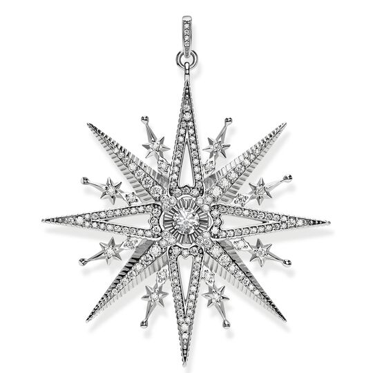 pendant royalty star silver from the Glam & Soul collection in the THOMAS SABO online store