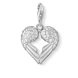 Charm pendant winged heart from the Charm Club Collection collection in the THOMAS SABO online store