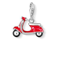 Charm pendant red scooter from the Charm Club Collection collection in the THOMAS SABO online store