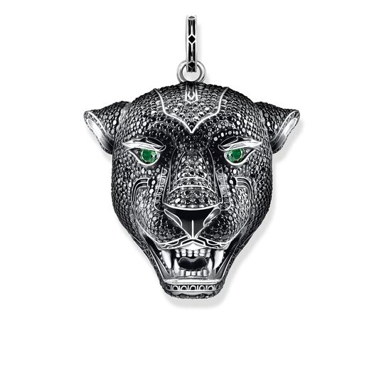 """pendant """"Black Cat large"""" from the Rebel at heart collection in the THOMAS SABO online store"""