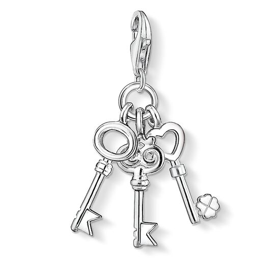 Charm pendant keys from the  collection in the THOMAS SABO online store