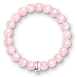 "Charm bracelet ""pink"" from the  collection in the THOMAS SABO online store"