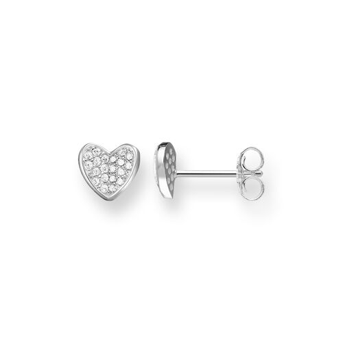 "ear studs ""heart"" from the Glam & Soul collection in the THOMAS SABO online store"
