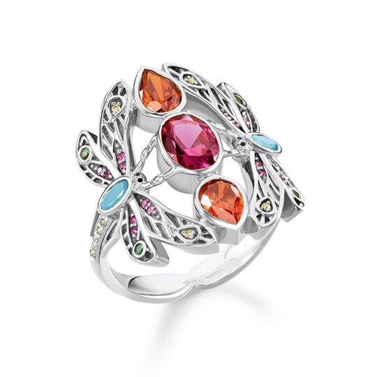 "ring ""dragonfly"" from the Glam & Soul collection in the THOMAS SABO online store"