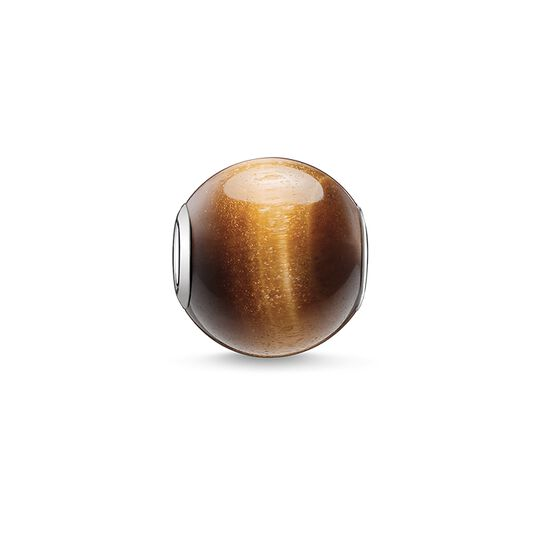 Bead brown from the Karma Beads collection in the THOMAS SABO online store