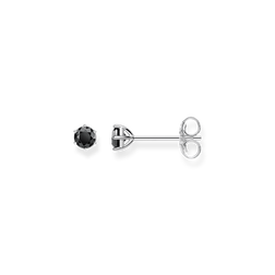 "ear studs ""black stone"" from the Glam & Soul collection in the THOMAS SABO online store"