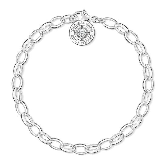 Charm bracelet diamond from the Charm Club collection in the THOMAS SABO online store